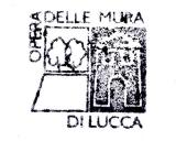 Turistické razítko - Opera delle mura - Lucca (Itálie)